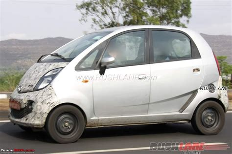 indian car tata spied the tata nano ev team bhp
