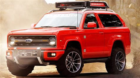 ford bronco   rendering youtube