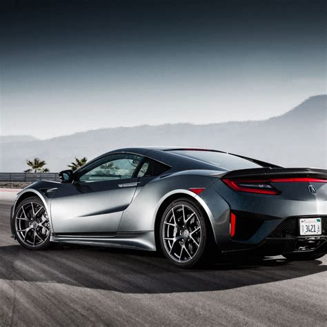 Wallpaper Honda Nsx, Acura Nsx, Rear View, 2017 Cars
