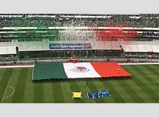 Selección Mexicana La gigantesca bandera mexicana vuelve
