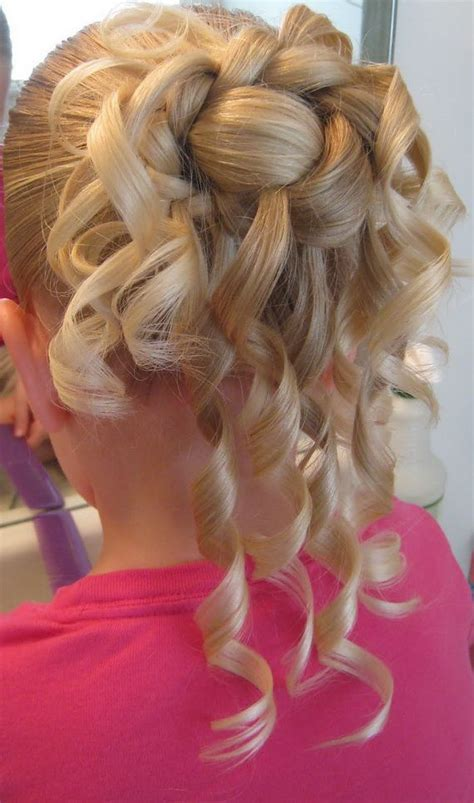 braided hairstyles for flower girls wedding girl hair