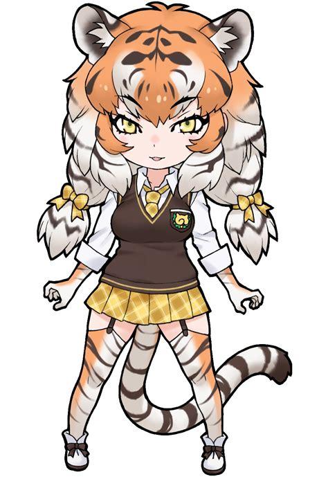 siberian tiger japari library  kemono friends wiki