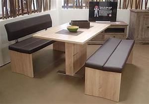 Tischgruppe Mit Bank Und Stühlen : tischgruppe imola tisch und 2 b nke esszimmer in sonoma eiche s gerau und braun ebay ~ Bigdaddyawards.com Haus und Dekorationen