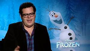 Did Josh Gad go method to play Olaf the Snowman in 'Frozen ...