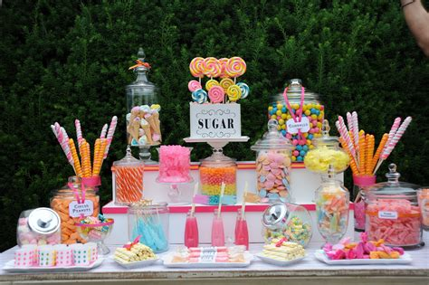 Cuppy Cakes Candy Buffet