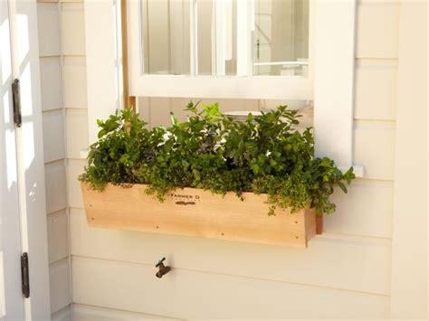 Plant Window by Window Box Edibles Hgtv