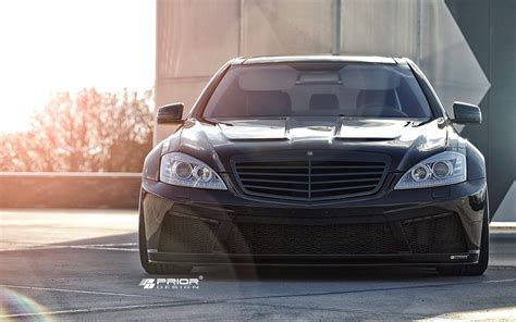 foto tuners prior design mercedes  klasse  widebody