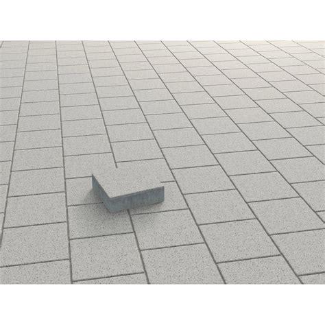 quadrat pflaster beton weiss gewaschen  cm   cm   cm