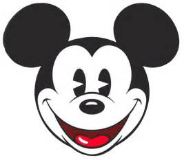 Classic Mickey Mouse Face