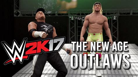 wwe  official gameplay   age outlaws entrance road dogg billy gunn youtube