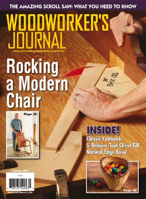 woodworkers journal magazine  woodworking