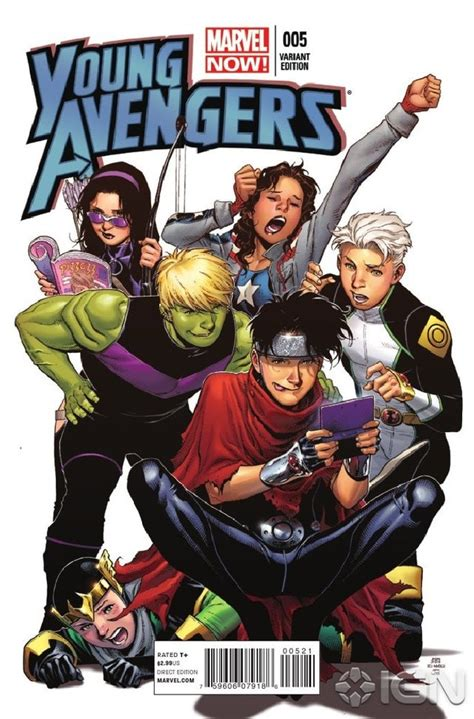 young avengers  preview ign