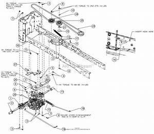 Mtd 13bqa1zt099  247 270420   2017  Parts Diagram For Drive