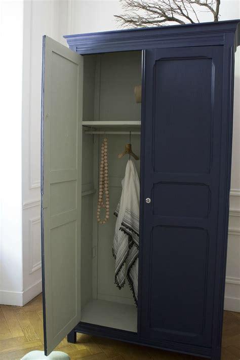 armoire chambre enfants armoire parisienne bleue chambre enfant trendy 3