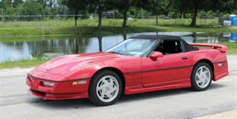 1989 Chevrolet Corvette Red Convertible Fl One Owner Car