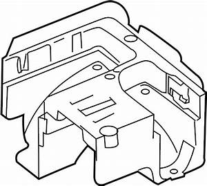 2007 Volkswagen Rabbit Bracket  Fuse  Box  Relay  And