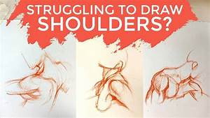 Simple Anatomy - How To Draw Shoulders