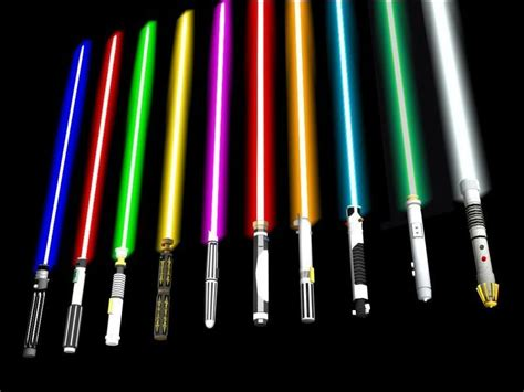 what color lightsaber what lightsaber colors wars amino