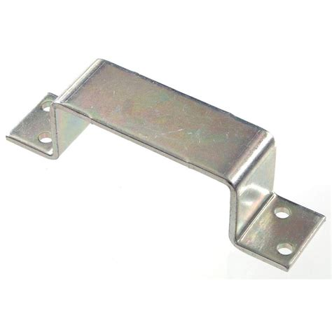 home depot barn door hardware the hillman bar holder closed in zinc plated 5 pack