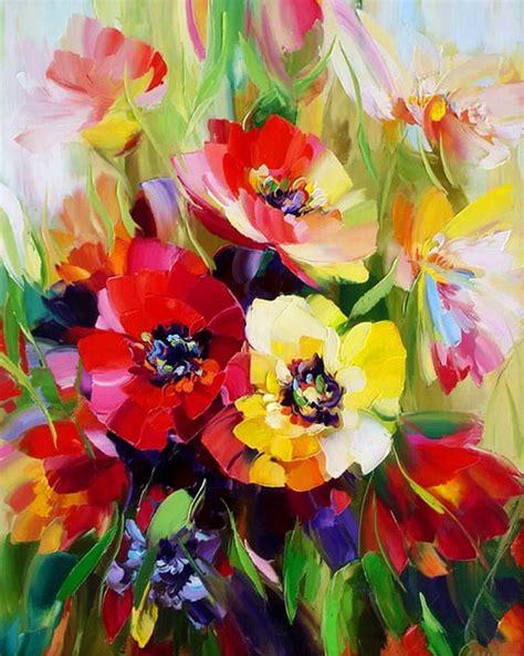 cuadros pinturas oleos pinturas flores bodegones de sergeev