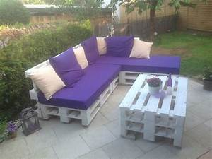 Gartenmöbel Aus Paletten Bauen : balkon lounge mbel selber bauen das beste aus wohndesign ~ Michelbontemps.com Haus und Dekorationen