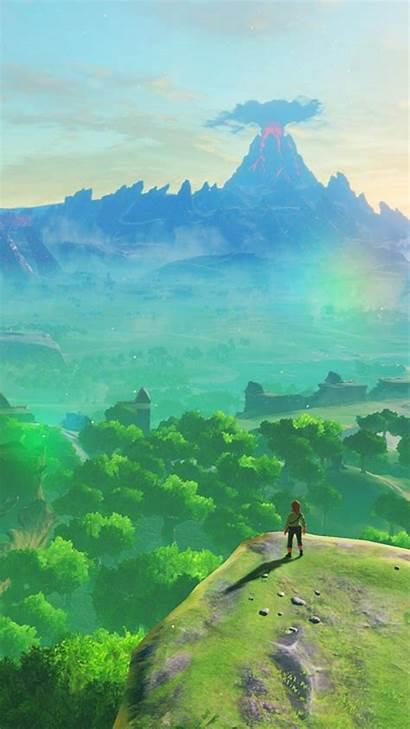 Smartphone Zelda Nintendo Wallpapers Switch Redd Fan
