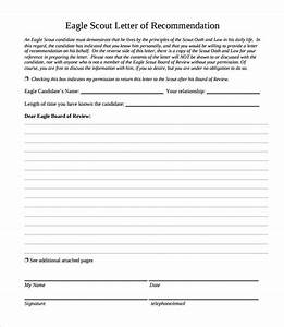 eagle scout letter of recommendation 9 download With letter of recommendation for eagle scout template