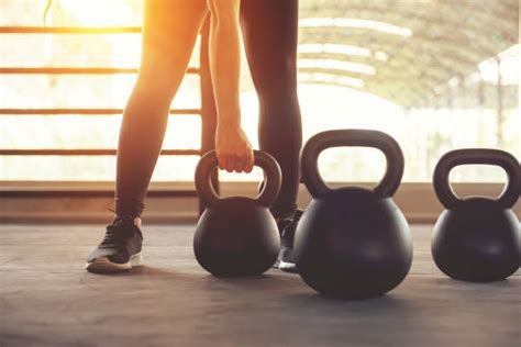 kettlebell fitness gym sport training weights