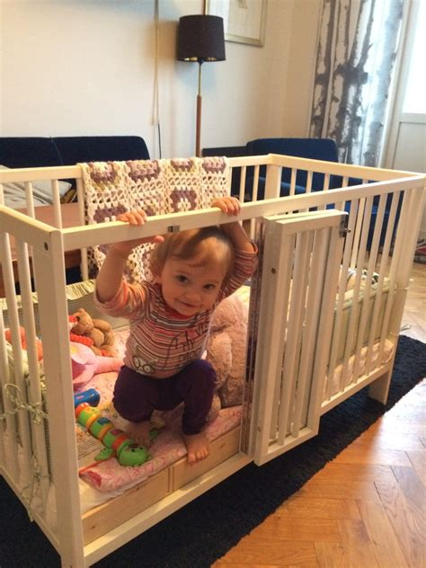 how to make a baby crib ikea gulliver crib with baby s door ikea hackers ikea