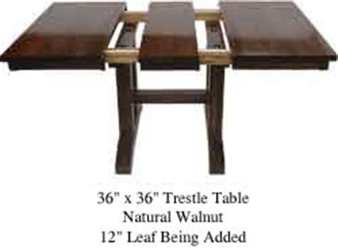 square dining table with leaf guide to tables 8207