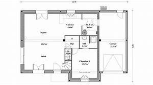 plan maison traditionnelle etage With plan de maison traditionnelle gratuit