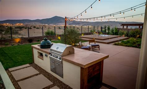 outdoor kitchens bbq island design landscapers  san