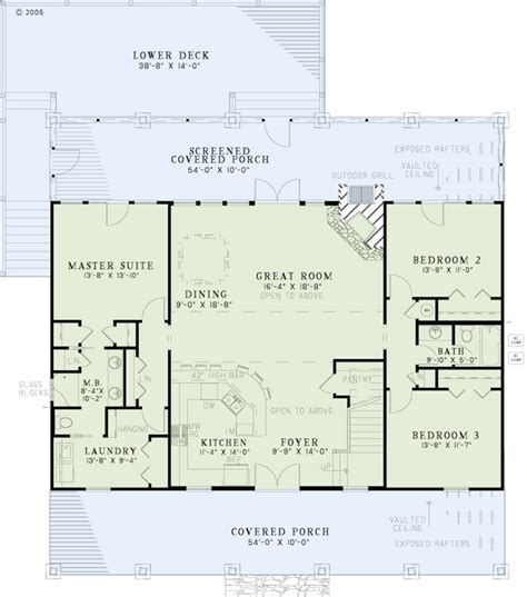 blueprints for homes collections of country style open floor plans free home