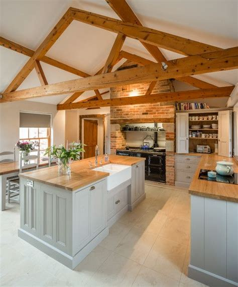 barn conversion kitchen designs georgianadesign houses inside and out 4317