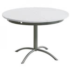 table ronde cuisine avec rallonges table de lit