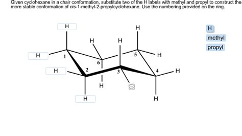 half chair conformation of cyclohexane chemistry archive october 21 2014 chegg