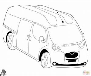 dodge van ford coloring pages print coloring With custom ford transit vans