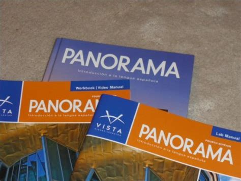 Panorama, 4th Edition, Student Edition, Supersite Code