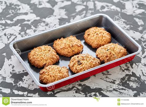 focus close biscuits baked fresh selective shallow depth cookie sheet field
