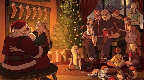overwatch christmas comic  released  russia