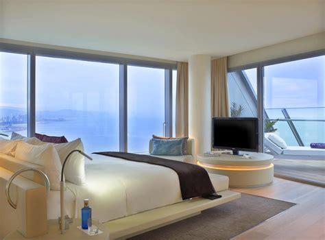 chambre à barcelone hotel w barcelone chambre et terrasse je vis à barcelone