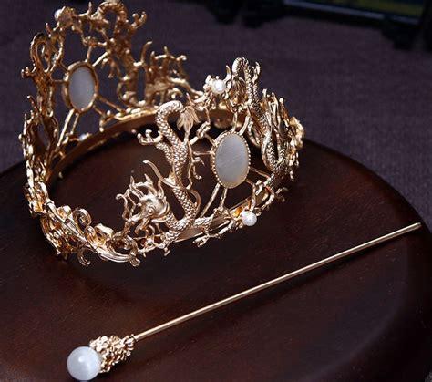 Chinese hair crown Hanfu Ornament - Fashion Hanfu