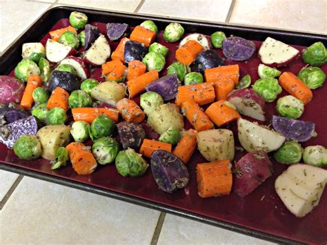 vegetable medley vegetables roasted winter sheet oven minutes check every cookie simple roast