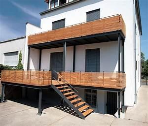 Balkon Anbauen Genehmigung : aussen corten hoffer ~ Watch28wear.com Haus und Dekorationen