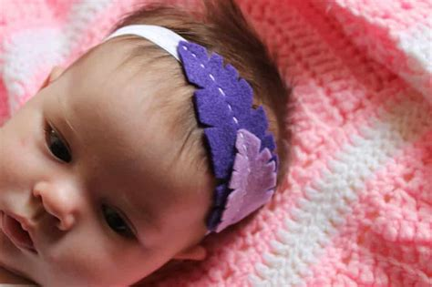 DIY Baby Feather Headband - Love Create Celebrate