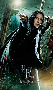 Deathly Hallows Part 2 Action Poster: Severus Snape [HQ ...