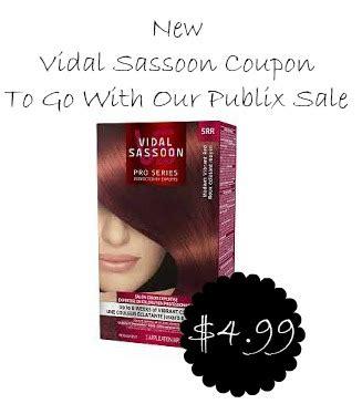 vidal sassoon hair color coupon new vidal sassoon hair color coupon 4 99 at publix