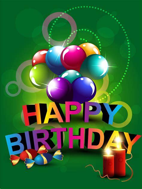 happy birthday    vectors clipart