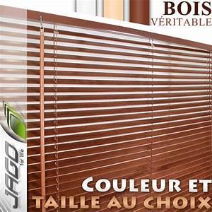 Store Venitien Bois : store lamelle bois pas cher ~ Melissatoandfro.com Idées de Décoration