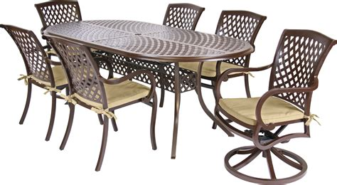 miyu furniture wellington collection 7 dining set